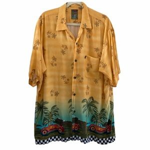 Pineapple Connection Size XL Tropical Shirt CL